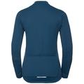 Stand-up collar l/s full zip LOMBARDIA Warm, poseidon, large
