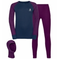 Set ACTIVE WARM ECO KIDS 3in1-basislaagset, charisma - diving navy, large