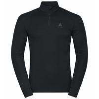 Men's ACTIVE WARM ECO Half-Zip Turtleneck Baselayer Top, black, large