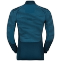 Herren BLACKCOMB Funktionsunterwäsche Langarm-Shirt mit Stehkragen, poseidon - blue jewel - atomic blue, large