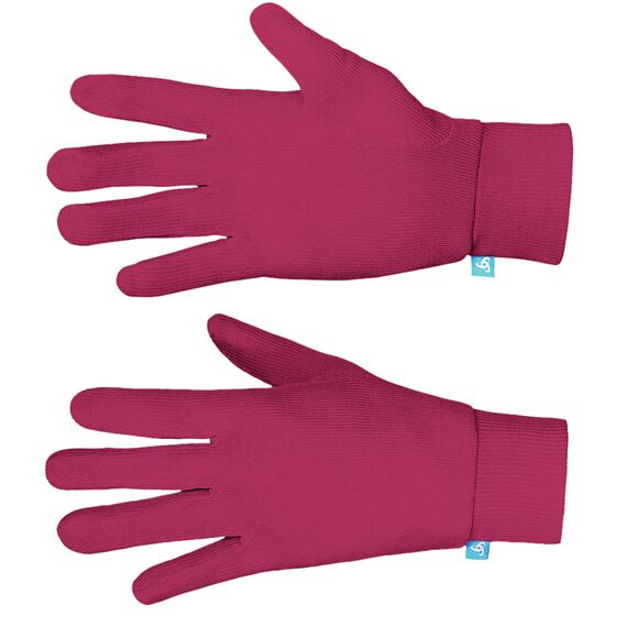 Gloves ORIGINALS Warm Kids, sangria, large