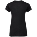 Damen NATURAL + LIGHT Funktionsunterwäsche T-Shirt, black, large