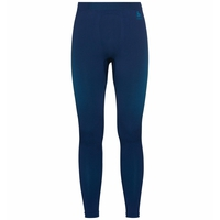 Men's PERFORMANCE WARM ECO Baselayer Pants, estate blue - atomic blue, large