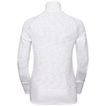 Midlayer 1/2 zip BIRDY, white - AOP FW18, large
