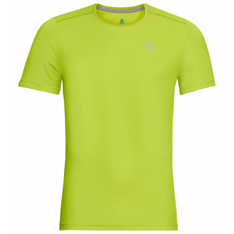 Men's GEORGE T-shirt, lime punch, large