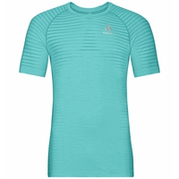 T-shirt ESSENTIAL SEAMLESS pour femme, jaded melange, large