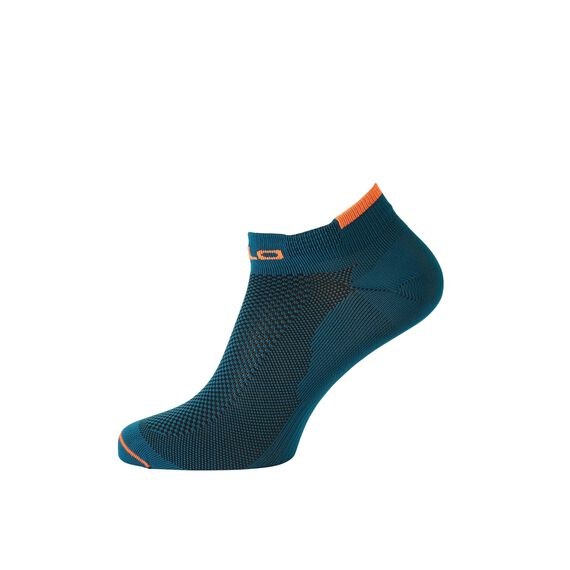 Socks short CERAMICOOL LOW CUT, blue coral - orange clown fish, large