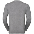Men's ALLIANCE KINSHIP Long-Sleeve Top, grey melange - mountain print SS19, large