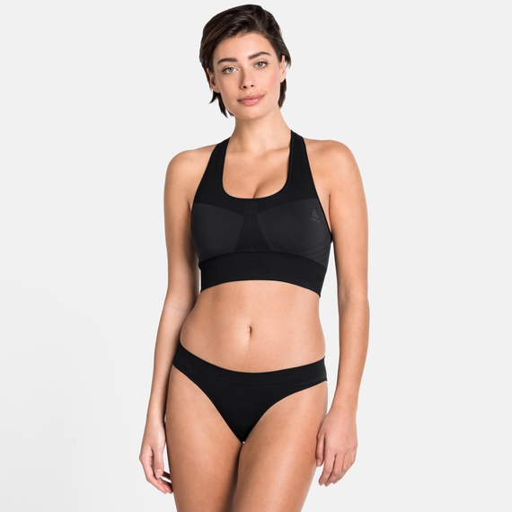 Brassière de sport SEAMLESS MEDIUM, black, large