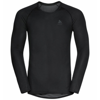 Men's ACTIVE F-DRY LIGHT ECO Base Layer Top, black, large