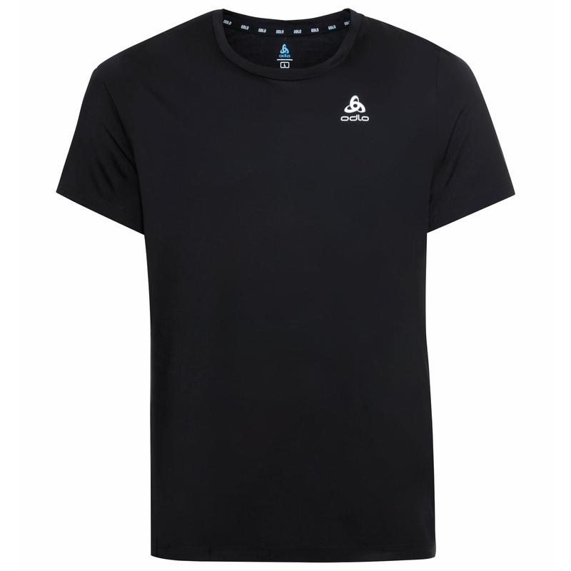 RUN EASY MERINO t-shirt, black, large