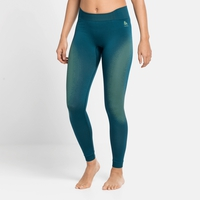 Damen PERFORMANCE WARM ECO Leggings, submerged - tomatillo, large