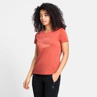 T-shirt CONCORD ELEMENT pour femme, burnt sienna - graphic SS21, large