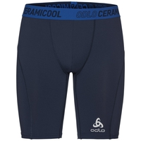 Pantaloncini Ceramicool pro, diving navy - energy blue, large