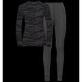 Set Warm GOD JUL, odlo graphite grey - black, large