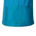 MORZINE cycling jersey men, blue jewel - allover print SS17, large
