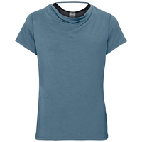 Damen MAHA T-Shirt, agean blue, large
