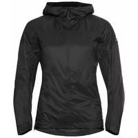 Women's FLI DUAL DRY WATER RESISTANT Hiking Jacket, black, large