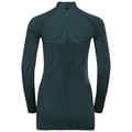 Women's ODLO FUTURESKIN Long-Sleeve Base Layer Top, stormy weather - black, large