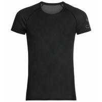 Men's ACTIVE F-DRY LIGHT LOGO ECO Base Layer T-Shirt, black, large