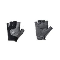 Korte handschoenen PERFORMANCE, odlo steel grey - black, large