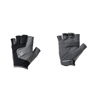 Guanti corti Performance, odlo steel grey - black, large