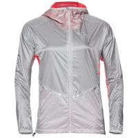 Jacket ZEROWEIGHT LIGHT, silver - fiery coral, large