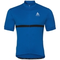 FUJIN cycling jersey men, energy blue, large