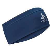 CERAMIWARM-hoofdband, estate blue, large