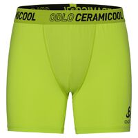 Shorts Ceramicool, acid lime - black, large