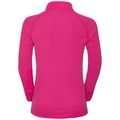 ACTIVE WARM KIDS 1/2 Zip Turtle-Neck Base Layer Top, beetroot purple, large