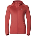 Hoody midlayer full zip PULSE, baked apple, large