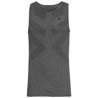 Women's KINSHIP LIGHT Base Layer Singlet, grey melange, large