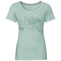 F-DRY PRINT Baselayer T-Shirt, surf spray - flower print SS19, large