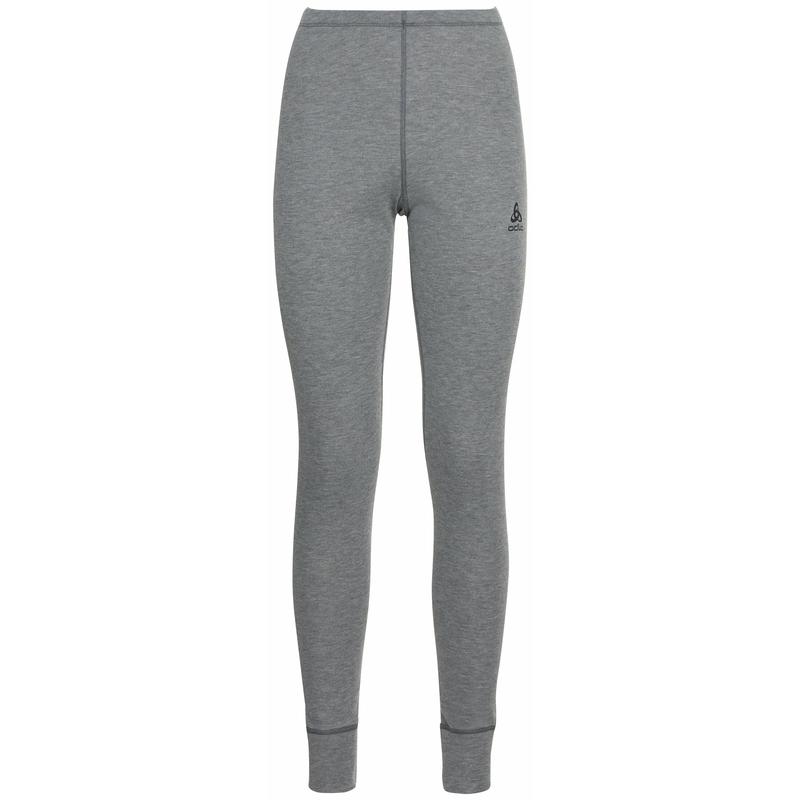 Women's ACTIVE WARM ECO Base Layer Pants, odlo steel grey melange, large