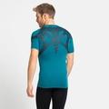 ACTIVE SPINE LIGHT-basislaag-T-shirt voor heren, tumultuous sea, large