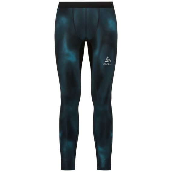 BL Bottom long VIGOR, blue coral - AOP FW18, large