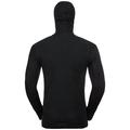 ACTIVE WARM-basislaagtop met gezichtsmasker voor heren, black, large