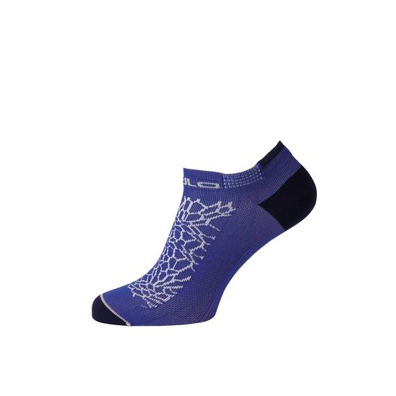 CERAMICOOL LADIES LOW CUT LIGHT kurze Socken, dazzling blue - diving navy, large