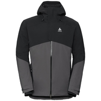 Jacke isoliert SLY X, odlo graphite grey - black, large