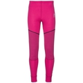 ACTIVE X-WARM KIDS Base Layer Pants, beetroot purple, large