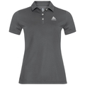 TINA Polohemd, odlo steel grey, large
