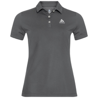 Women's TINA Polo Shirt, odlo steel grey, large