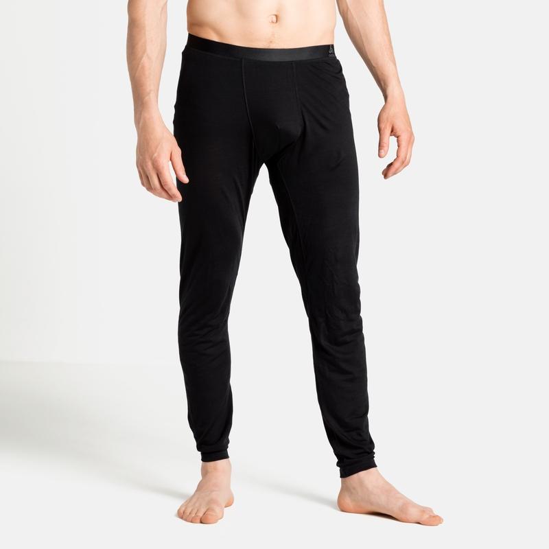 Herren NATURAL + LIGHT Base Layer Hose, black, large