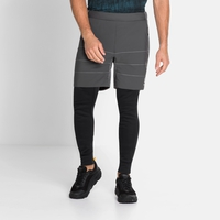 Short de running MILLENIUM S-THERMIC pour homme, odlo graphite grey, large