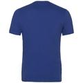 KUMANO LOGO Baselayer T-Shirt, sodalite blue - placed print FW18, large