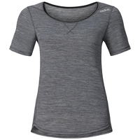 REVOLUTION LIGHT kurzärmeliges Baselayer Shirt, grey melange, large