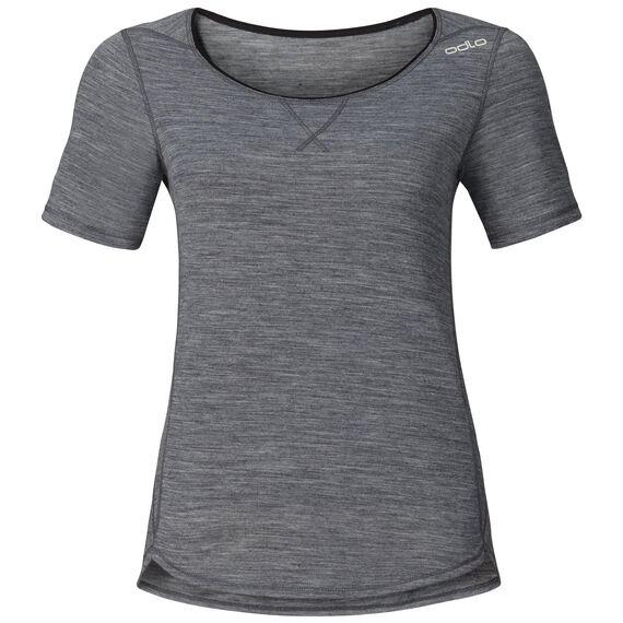 REVOLUTION LIGHT Baselayer Shirt Short-Sleeve, grey melange, large