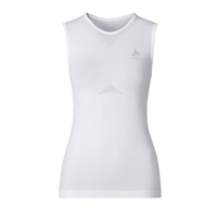 EVOLUTION LIGHT baselayer singlet women, white, large