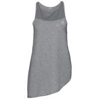 Camiseta térmica sin mangas cuello redondo MAIA, grey melange, large